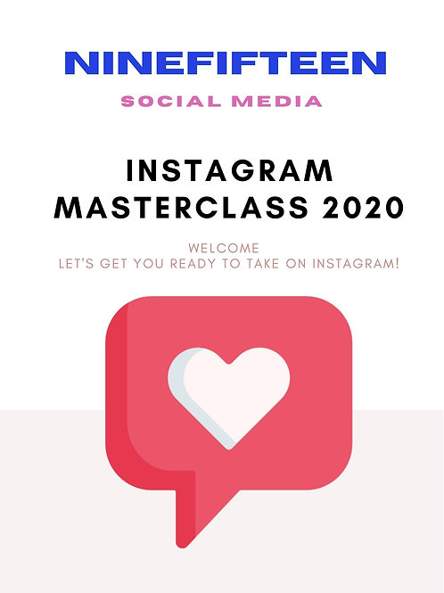 Instagram Masterclass Workbook