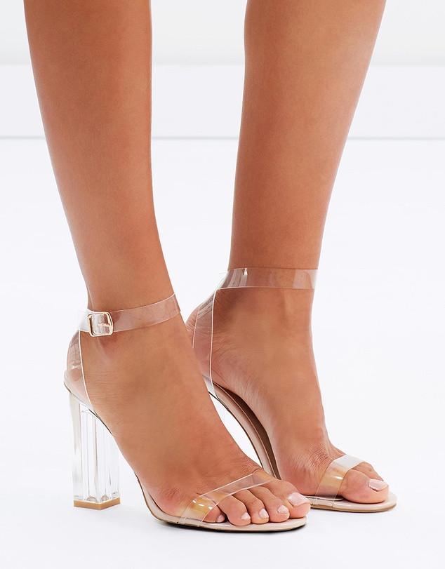 Nude Shoes PVC Shoes