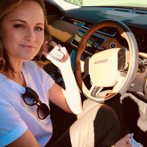 Louise Chambers Landrover Range Rover Velar