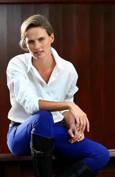 Magic Millions Francesca Cumani in Balenciaga Harrolds styled by Louise Chambers