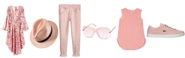 pink pastel wardrobe
