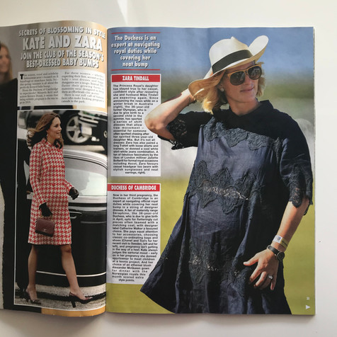 Zara Tindall Hello Magazine White Label Noba styled by Louise Chambers