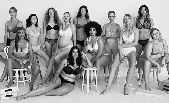 Bras briefs women in underwear