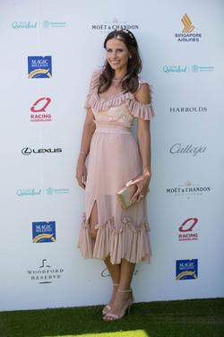 Amanda Abate Magic MIllions styled by Gold Coast stylist Louise Chambers Alice McCall Calleija Olga Berg
