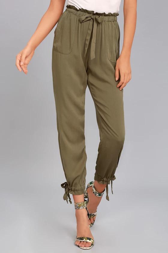 womens pants heels