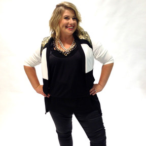 Moyra Major styled by Louise Chambers City Chic