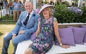 Mike Tindall Katie Page Magic Millions styled by Gold Coast stylist Louise Chambers MJ Bale Anthea Crawford Calleija