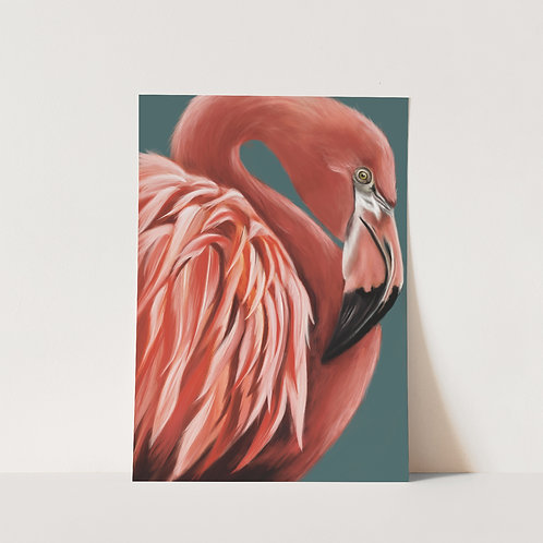 Frida Flamingo Limited Edition Print