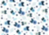 Little Bluebird logo flowers