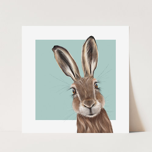 Hare Limited Edition Wildlife Print