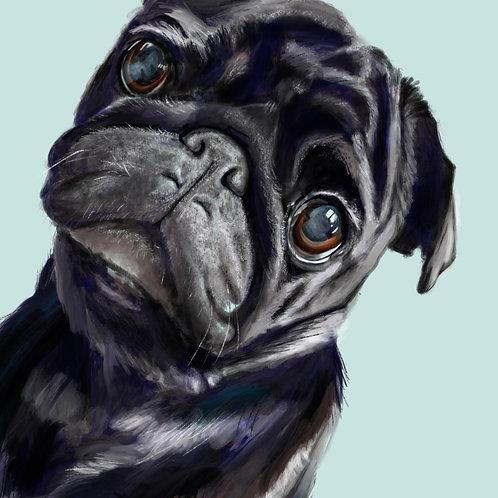 Digital Pet Portrait - Gift Voucher