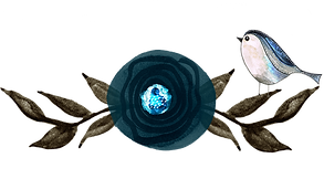 Little Bluebird Textile Artist logo