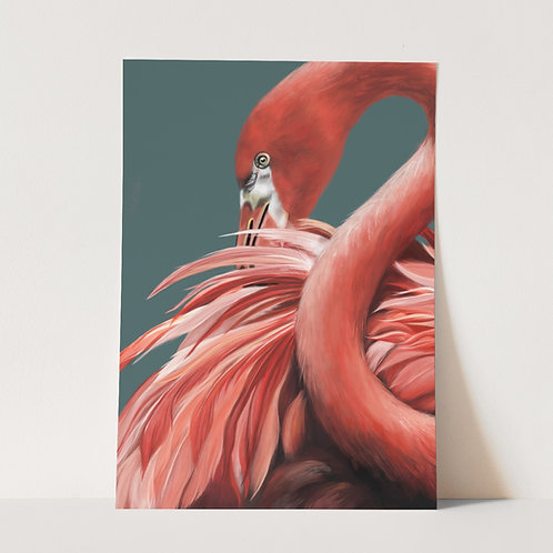 Pink Flamingo Limited Edition Print