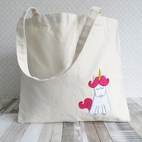 Unicorn Tote Bag front
