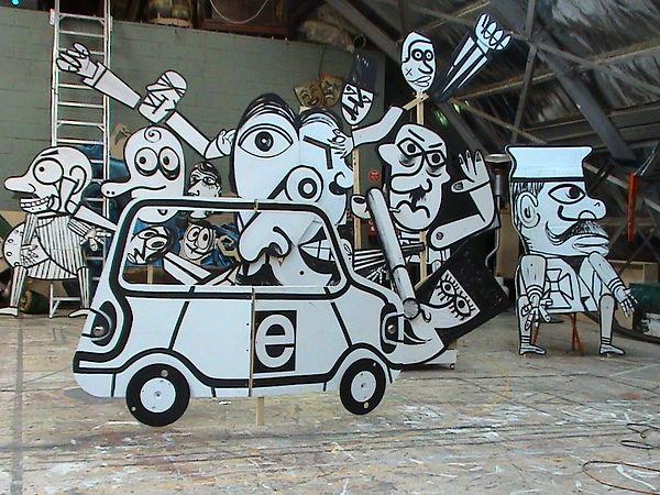 To der bamke Installation 2006.JPG