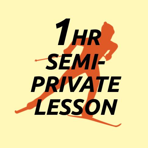 One Lesson: Semi-Private (2 people)