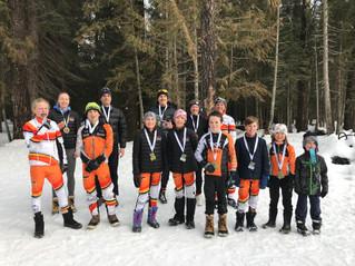 Kimberley Skiers at Kootenay Cup in Fernie. Wow !