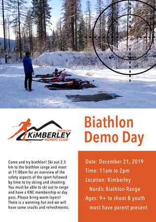 Biathlon Demo Day