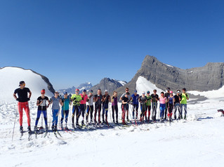 Kimberley Nordic Haig Glacier Pictures...just to put you in the mood.