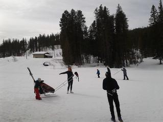 Spring Break...go Cross Country skiing!