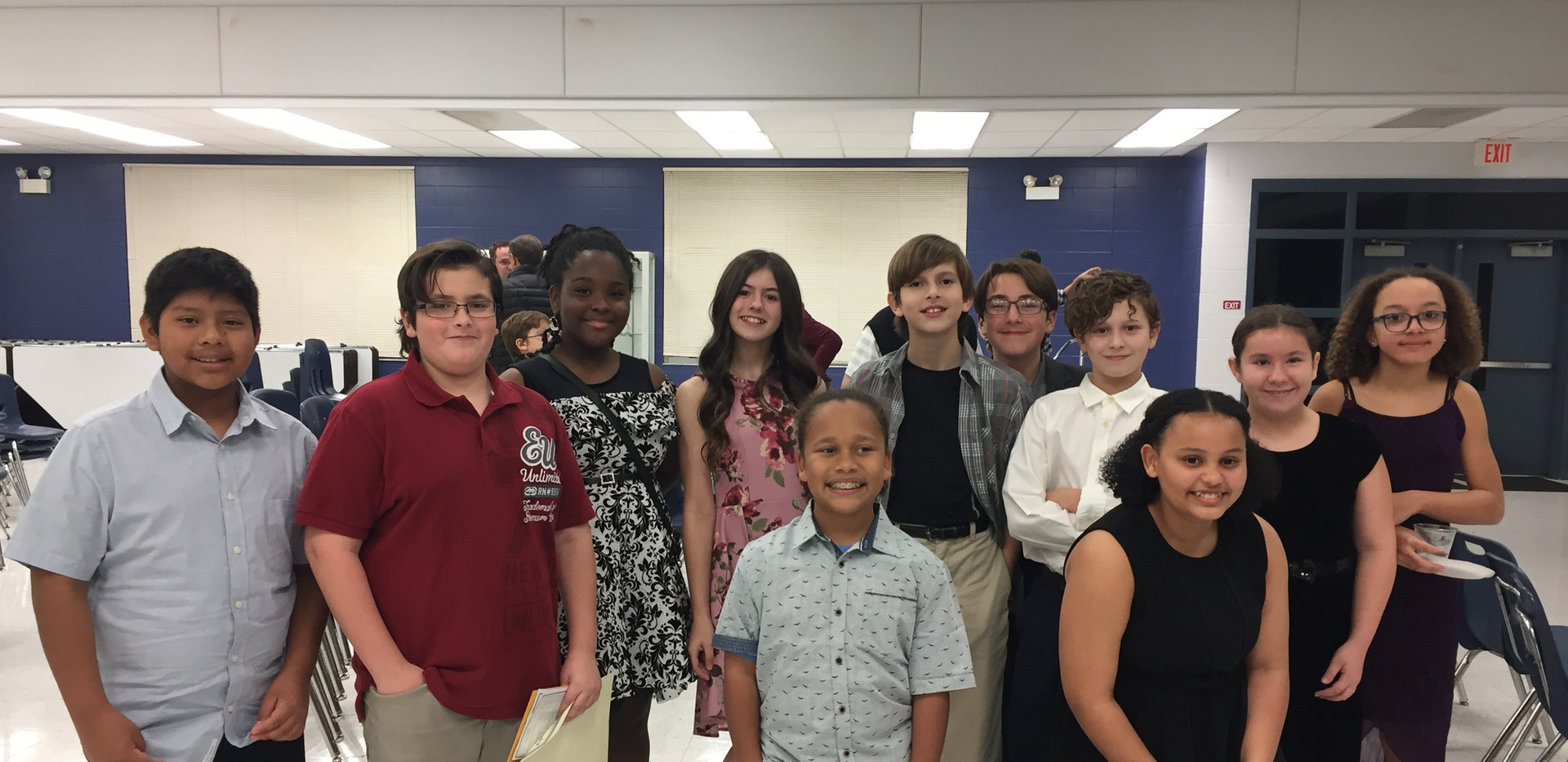 6th Grade Inductees