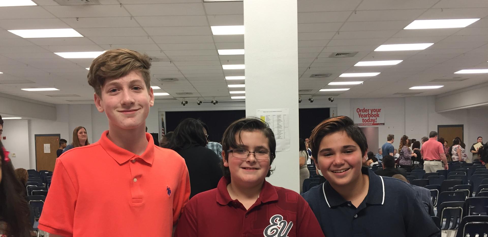 Deuce, Devin, & Cole