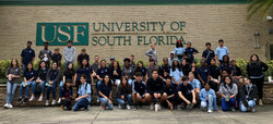 Students at USF Field Trip