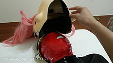 1mm rubber mask breath paly kigurumi - 2 1