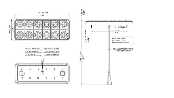 PDM25 System Diagram