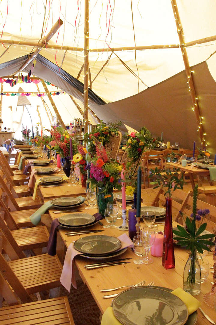 wedding glamping cornwall