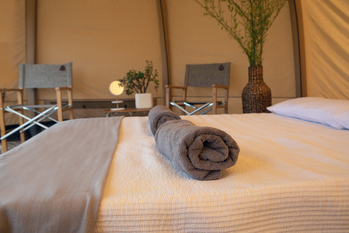 Yurts and luxury bell tents