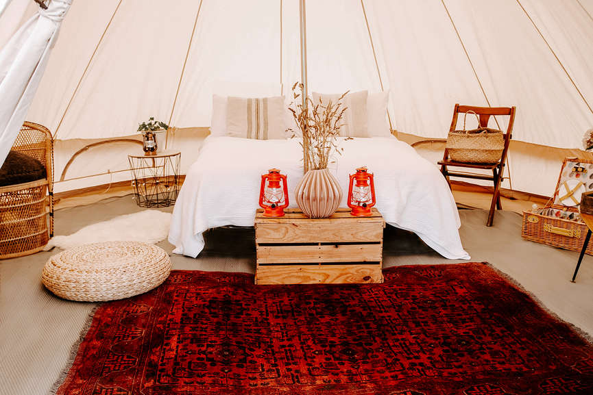 Bell Tent Hire for Weddings