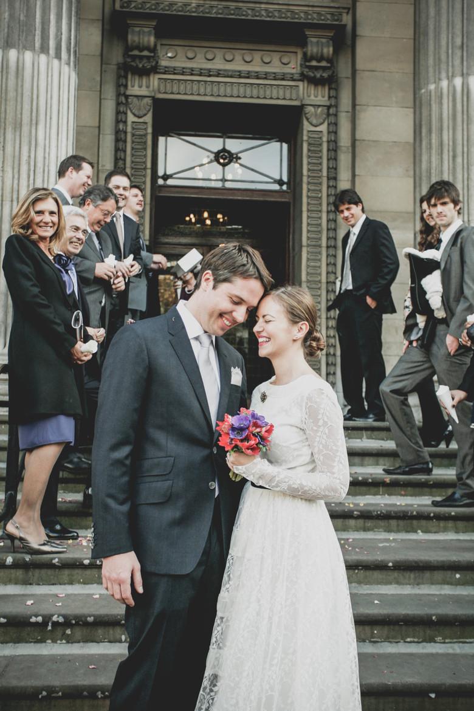 Alma & Paulo's intimate Cornish Wedding