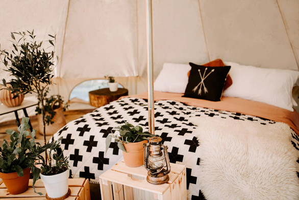 Best Bell Tent Glamping in Cornwall