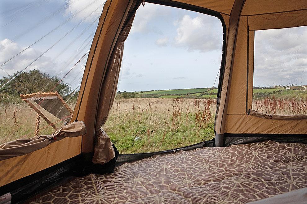 yurt camping cornwall