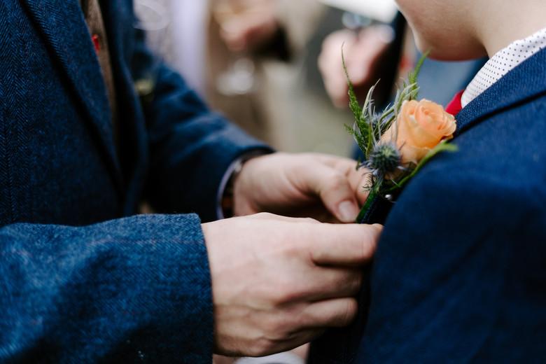 A beautiful intimate wedding in Looe, Cornwall