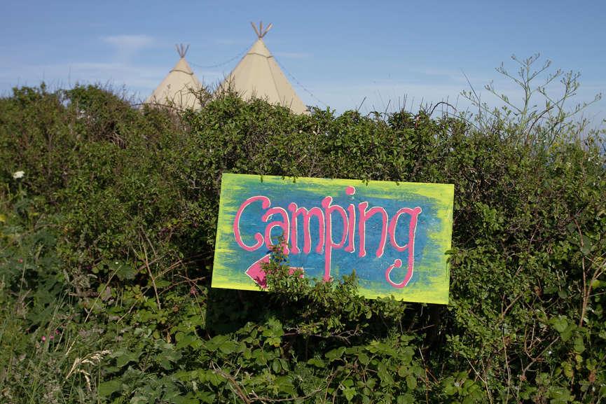 Camping at events