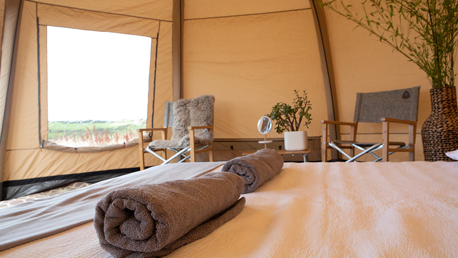 Luxury Yurt Camping Cornwall
