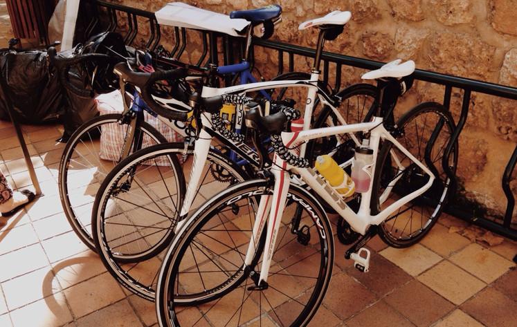 Secure bike storage, Cycle Camping St Agnes, Cornwall