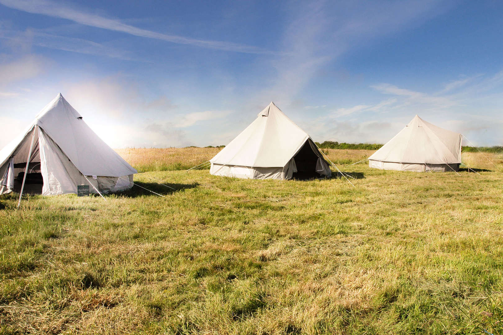 Event Bell Tent Hire, Cornwall