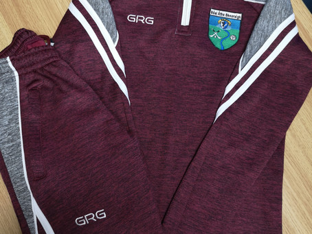 Check out our new tracksuit!