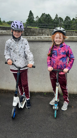 2nd Class took part in a Scooting Course with Lukasz from An Táisc2nd Class took part in a Scooting