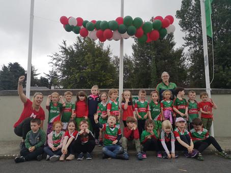 Ballyvary Bursting with Mayo Pride
