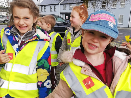 Junior Infants trip to the Post Office