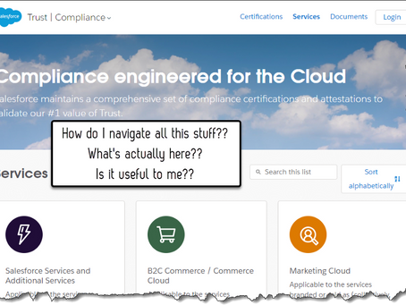 """Salesforce's Compliance Documentation Site - A """"How-To""""Guide"""