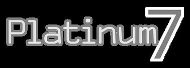 Platinum7 Logo