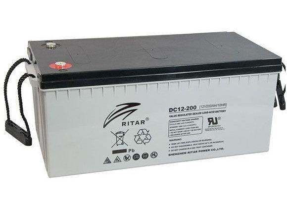 RITAR Solar battery 12v 200ah