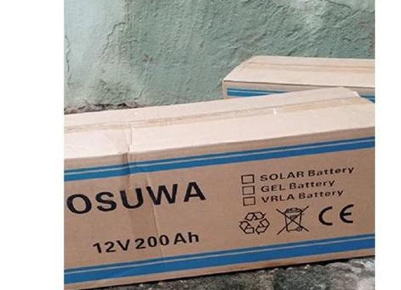 CHILWEE (OSUWA) Solar Battery 12v 200ah