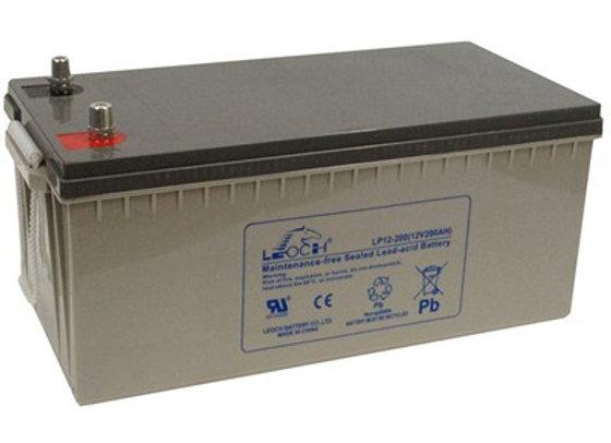 LEOCH Solar Battery 12v 100ah