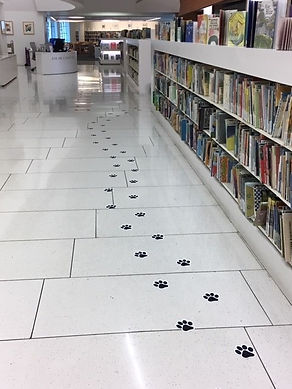 BH Children's Library - Paw Prints! _edi